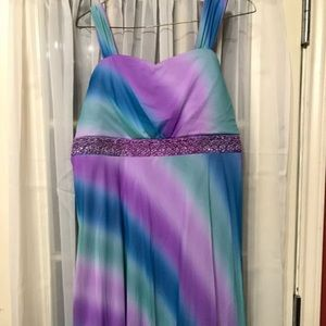 Other - Purple and blue kids dress